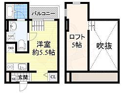 北花田駅 4.6万円