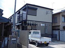 京都府京都市北区大宮東総門口町の賃貸アパートの外観