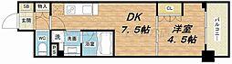 ザ・パークハビオ天満橋[11階]の間取り