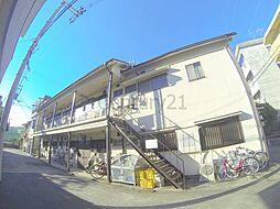 大阪府池田市住吉1丁目の賃貸アパートの外観