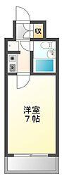 メインステージ武庫川[7階]の間取り