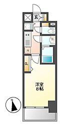 プレサンス新栄町ギャラント[6階]の間取り