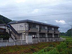 長野県茅野市金沢の賃貸アパートの外観