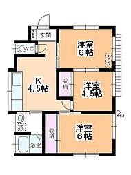 川角駅 3.8万円