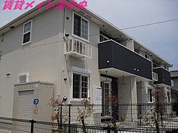 三重県津市寿町の賃貸アパートの外観
