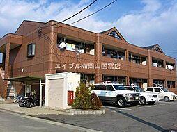 岡山県岡山市東区金岡西町丁目なしの賃貸アパートの外観
