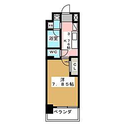 アールズタワー望が丘[2階]の間取り