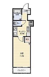 フェルメール朝霞台[2階]の間取り