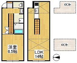 ALLEY6[2階]の間取り
