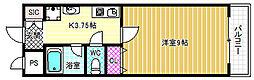 VIRETTA福島[3階]の間取り