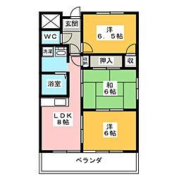 VIVRE21[4階]の間取り