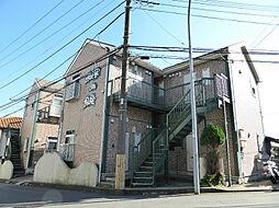 ハーミットクラブハウス岡沢町B棟[201号室]の外観