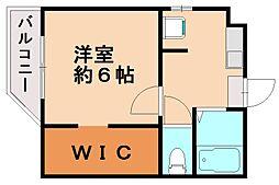 シミズアパートメント[2階]の間取り