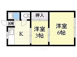 浅香山駅 3.5万円
