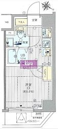 GROWS RESIDENCE横浜大通り公園[903 701号室]の間取り