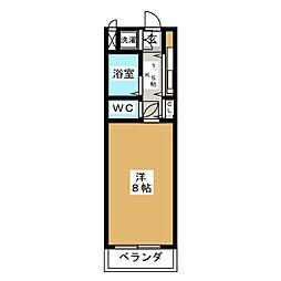 メゾン34[1階]の間取り