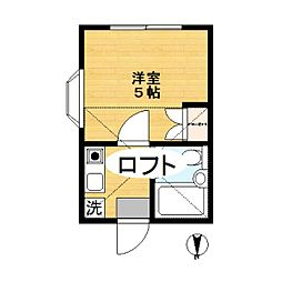 SYハイツ[1階]の間取り