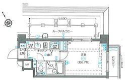 フェニックス西新宿参番館[0503号室]の間取り