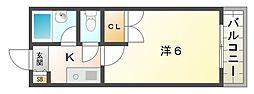 メゾンアバンテ[2階]の間取り