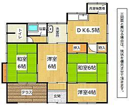 [一戸建] 福岡県中間市七重町 の賃貸【/】の間取り