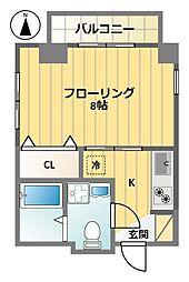 Y2ビル[301号室]の間取り