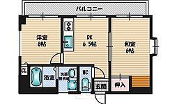 清泉ビル江坂[2階]の間取り