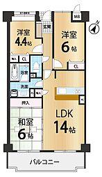 ローレルコート生駒菊美台2番館
