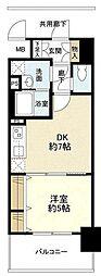 シティーコート堺駅前ロータリー[4階]の間取り
