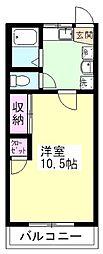 第7アトムステーションビル[3階]の間取り