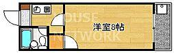 ホワイトリバー千栄[203号室号室]の間取り