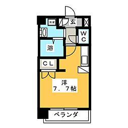 Marche  中村・砂田[4階]の間取り