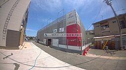 大阪府東大阪市友井2丁目の賃貸アパートの外観