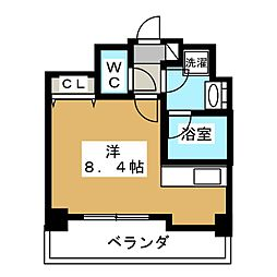 ALTA京都堀川ウインドア[11階]の間取り