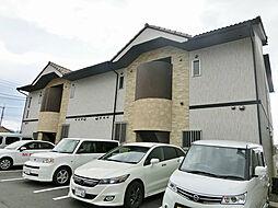 滋賀県蒲生郡日野町大字村井の賃貸アパートの外観