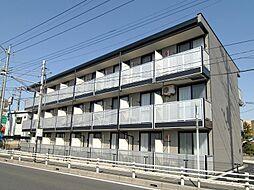 埼玉県草加市谷塚仲町の賃貸マンションの外観