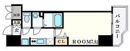 JR東海道・山陽本線 神戸駅 徒歩4分の賃貸マンション 10階1Kの間取り