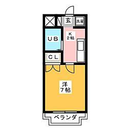 エクセレンスG II[2階]の間取り