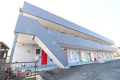 外観,1K,面積22.68m2,賃料3.0万円,JR常磐線 赤塚駅 3.2km,,茨城県水戸市見川