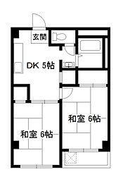 BNコート洛西[4階]の間取り