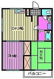 ファミール浦和[1階]の間取り