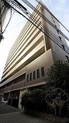 大阪府大阪市北区錦町の賃貸マンションの外観