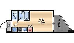 エムロード福島[8階]の間取り
