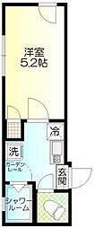 ウィンレックス赤羽2丁目[5階]の間取り