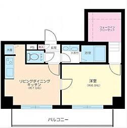 エスコート横浜関内[9階]の間取り