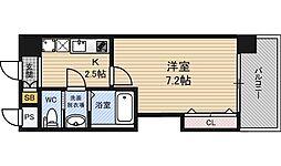 ラグゼ新大阪EAST2[9階]の間取り