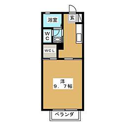 フィニックスB[2階]の間取り