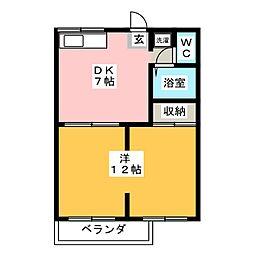 美乃坂本駅 3.9万円