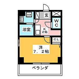 K's house 玉の井[3階]の間取り