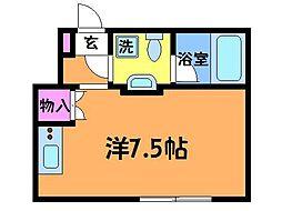 パークテラス仙川[1階]の間取り