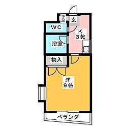 シティライフ藤ヶ丘南1号館[1階]の間取り